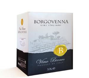 BIANCO BORGO VENNA BAG IN BOX LT 10 CT 1