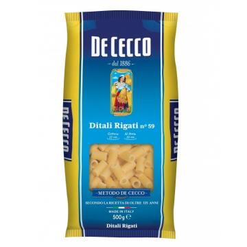DITALI RIGATI DE CECCO 59 KG 0,500 CF24