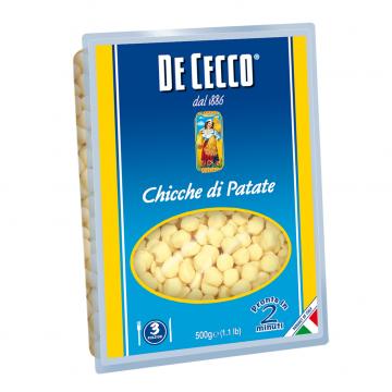 CHICCHE DI PATATE DE CECCO KG 0,500 CF 12