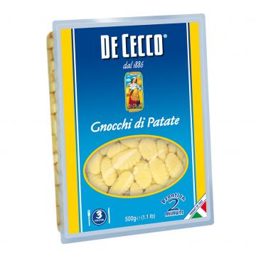 GNOCCHI DI PATATE DE CECCO KG 0,500 CF 12