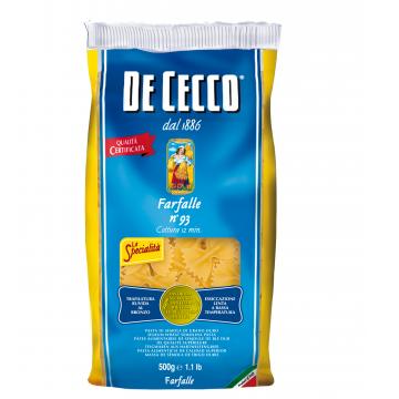 FARFALLE DE CECCO 93 KG 0,500 CF 24
