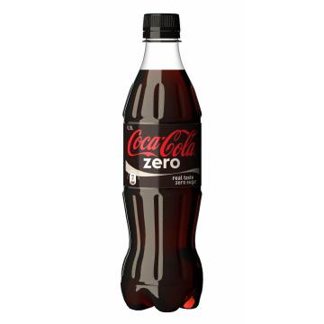 COCA COLA ZERO PET 0.450 BT12