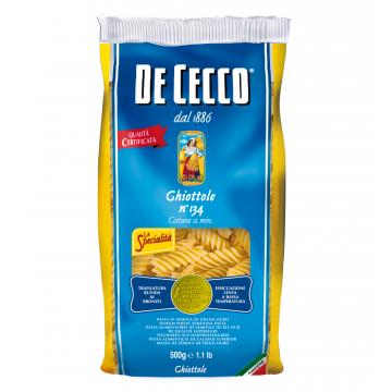 GHIOTTOLE DE CECCO 134 KG 0,500 CF24