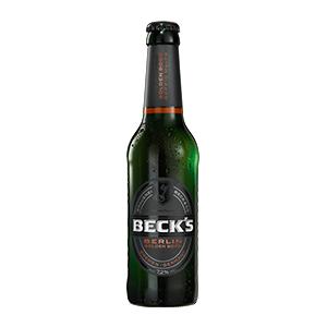 B. BECK'S BERLIN GOLDEN BOCK OW CL33 BT24