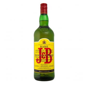 J & B SCOTCH WHISKY CL70 BT1